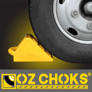 Ozchok wheel chocks